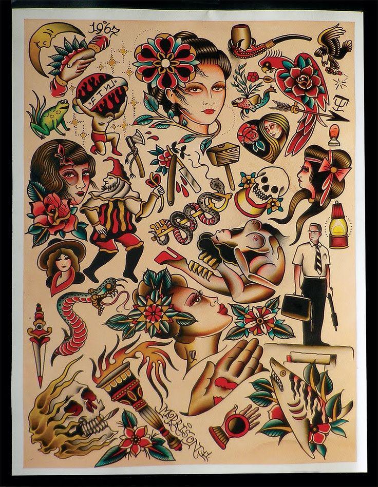 402 besten tattoo flash bilder auf pinterest zeichnungen. Black Bedroom Furniture Sets. Home Design Ideas