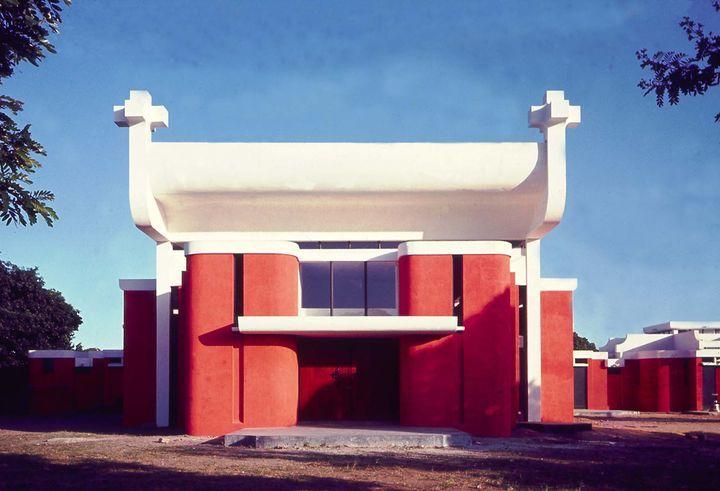 église de la sagrada familia, Machava, Mozambique, Amancio (pancho) Guedes - 1960-1964