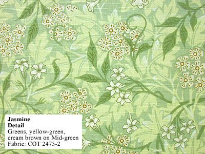 Historic Style - Jasmine, by William Morris