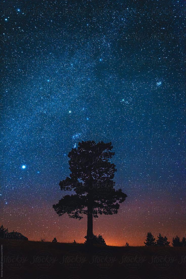 Stock Photo Of Night Sky By Dimitrije Night Sky Photography Night Sky Art Night Sky Wallpaper