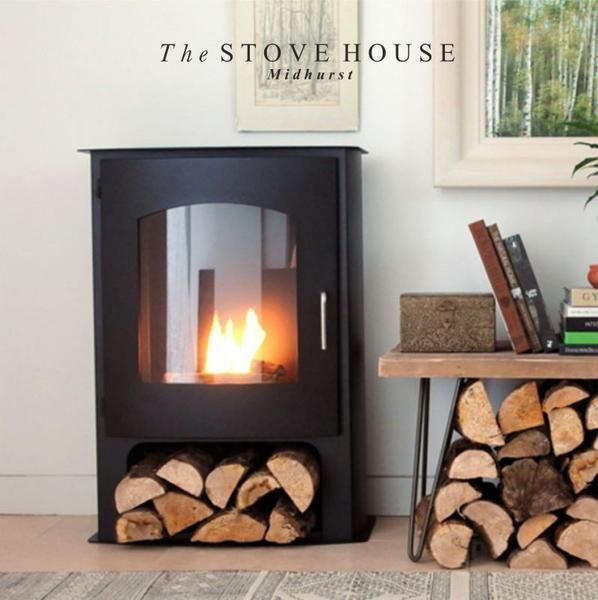 Pembrey Bioethanol Stove Large No Flue Required Bad