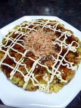 簡単☆小麦粉とほんだしのお好み焼き by ayayagi