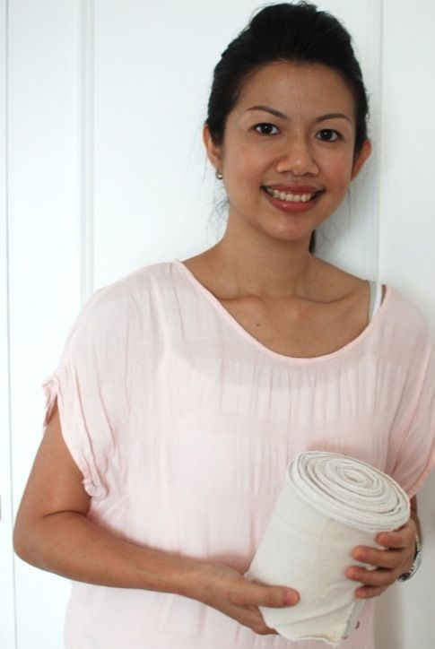 post-partum care belly binding and Asian traditions