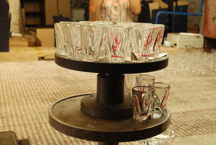 becherovka glass