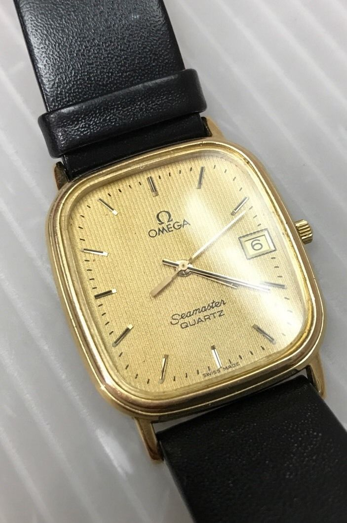 Omega Seamaster Quartz Gold