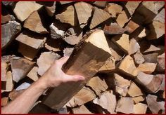 Small firewood pieces are often better than large pieces for convenient stoking. A range of piece sizes is best.