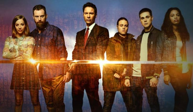 Travelers. It's a Netflix original series (one season so far) about futuristic government agents overtaking the bodies of people about to get killed and their mission in the past (current times). It's extremely high quality, well written, and appeals to all genre fans. I don't want to give away too much, but it's a lot of action, a lot of sci-fi, and a lot of great characters, some of whom are quite attractive.—emoz3