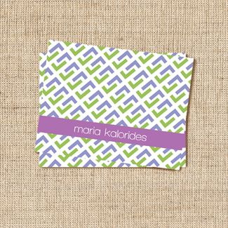 Cravate Lavender Stationery
