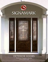 signamark choose from our wide array of exterior fiberglass doors wood interior doors and decorative glass styles