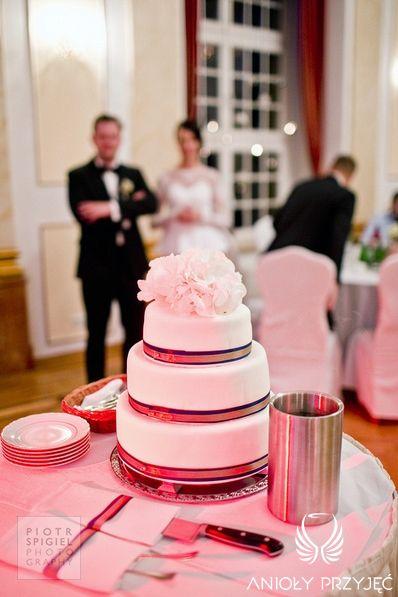 22. Platinum Gold Wedding, Wedding cake / Platynowo złote wesele, tort weselny, Anioły Przyjęć