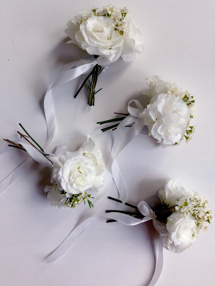 dekoracja samochodu   |   przypinki   |   kwiaty minwedding