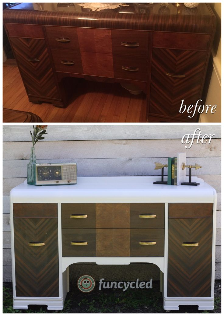 Waterfall Buffet Makeover by FunCycled http://funcycled.com/projects/waterfall-buffet-makeover/ #makeover #repurposedfurniture #interiordesign #furnituredesign #interiors #DIY #funcycled