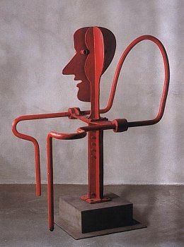 Karel Nepraš: Fontána - červená židle