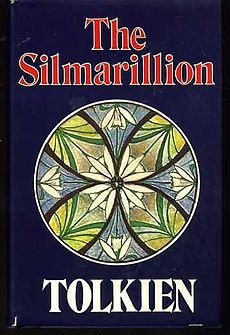 The Silmarillion.  Book Cover.  http://lilywight.com/2012/11/07/a-month-of-middle-earth/
