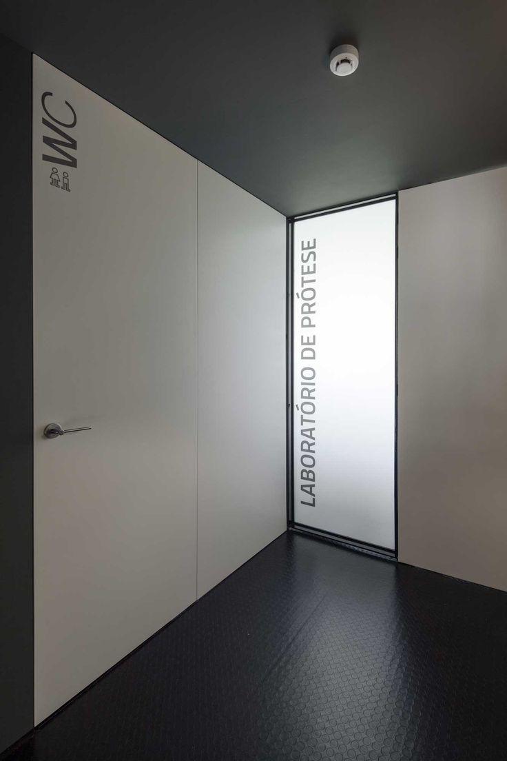 Toilet Stylish And Modern Dental Studio Design In Portugal
