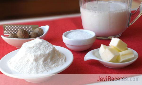 Receta para hacer Salsa Bechamel. OK http://www.hogarutil.com/cocina/recetas/salsas/201010/bechamel-3130.html