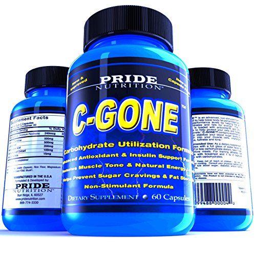 #1 Fat Burner - C-GONE 60 Pills - Best Carb Blocker and Fat Absorber - Non-Stimu...