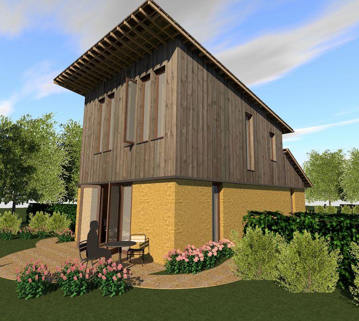Strobalenhuizen is voor iedereen die zelf een eigen huis wil bouwen, ecologisch wil wonen, een sabbatical heeft, betaalbaar wil wonen, en noem maar op!