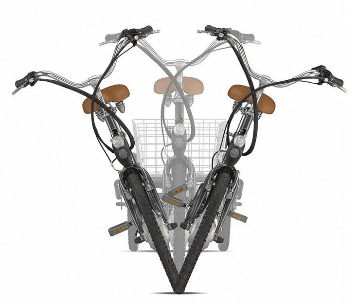 Italwin tre hjul elsykkel