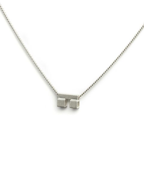 TURINA PIX2.1S necklace with pendant from casted silver (925). 65 EUR via www.turinajewellery.com