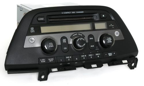 2008 - 2010 Honda Odyssey AM FM Radio 6 Disc mp3 CD Part Number 39100-SHJ-X320