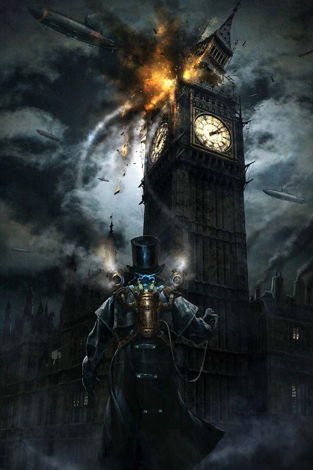 Steampunk Tendencies | Art by Didier Graffet http://www.steampunktendencies.com/post/83621718490/