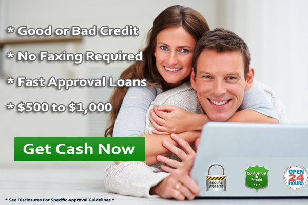 Payday loan no guarantor bad credit image 1