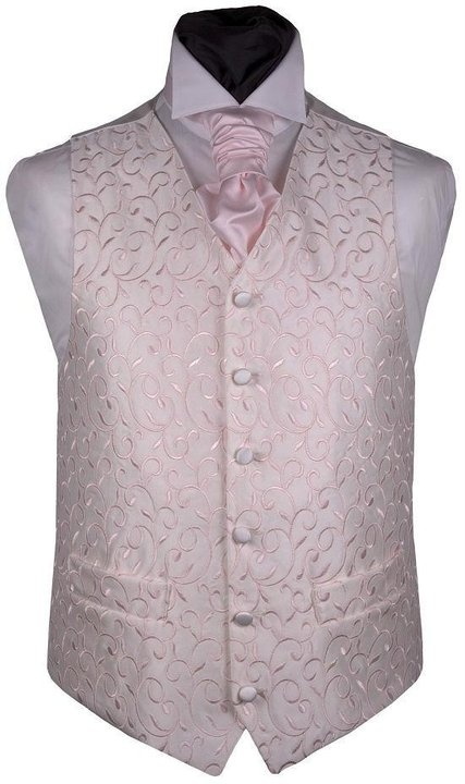 Father of the bride and groom vest.  Love it for blush wedding