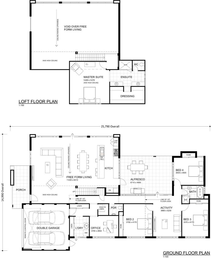 59 best house plan dreaming images on pinterest floor for Warehouse house plans