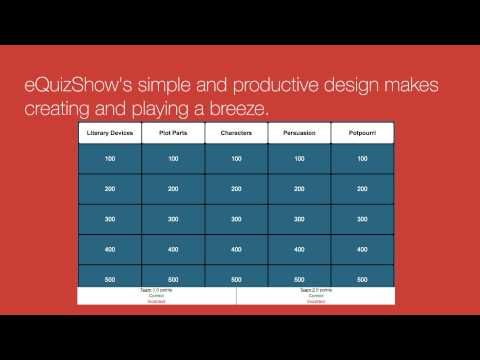 On Friday I shared a video about how to create and play Jeopardy-style game on the Factile platform. There are other good options for creati...