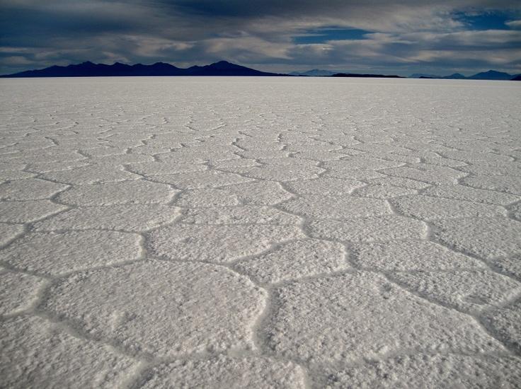 Salar de Uyuni salt flats in Bolivia
