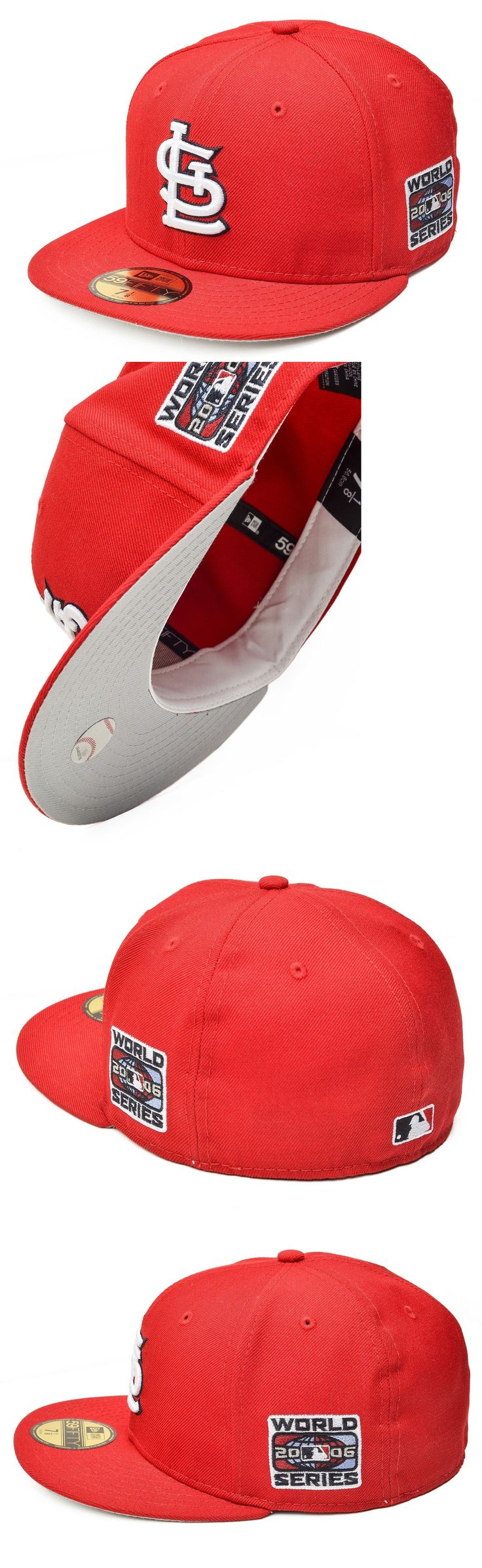 Baseball-MLB 24410: New Era St. Louis Cardinals 59Fifty Mlb World Series Fitted (Stlcar World 2006) -> BUY IT NOW ONLY: $32.95 on eBay!