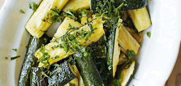 Roast Courgettes With Lemon Recipe - Sainsbury's