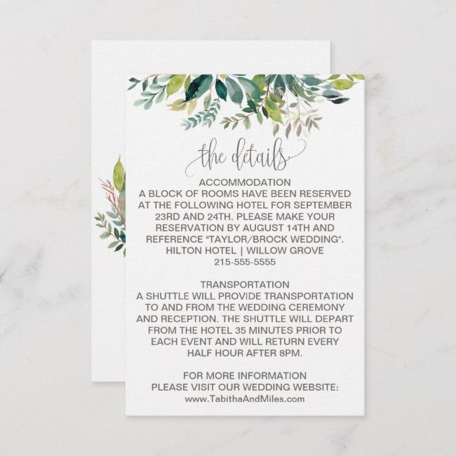 Create Your Own Enclosure Card Zazzle Com Wedding Enclosure Cards Wedding Cards Enclosure Cards