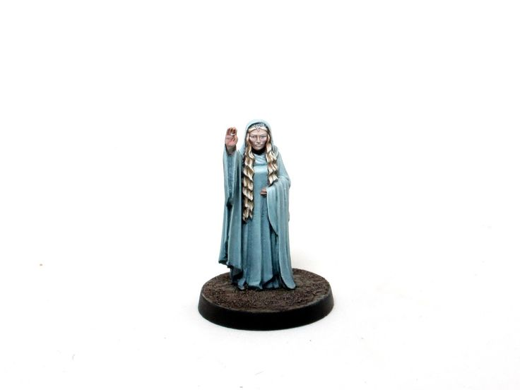 How to paint Galadriel