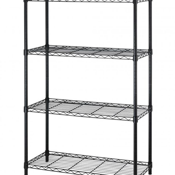 36 X14 X54 4 Tier Layer Shelf Adjustable Steel Wire Metal