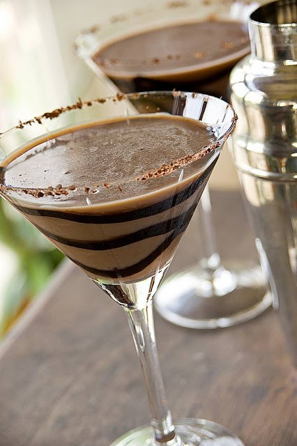 Chocolatini - Top Cocktail Recipes - Cocktails and Mixed Drinks Collection