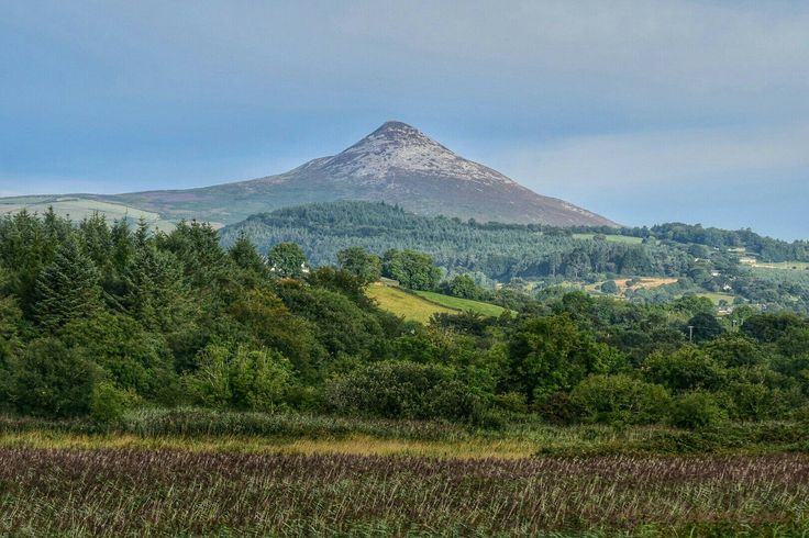 The sugarloaf in County wicklow Ireland