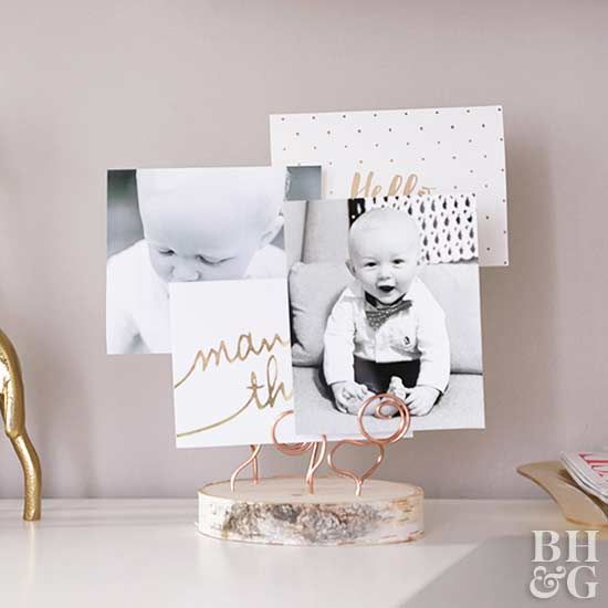 Display favorite pictures, paper mementos, and treasured keepsakes in an easy-to...