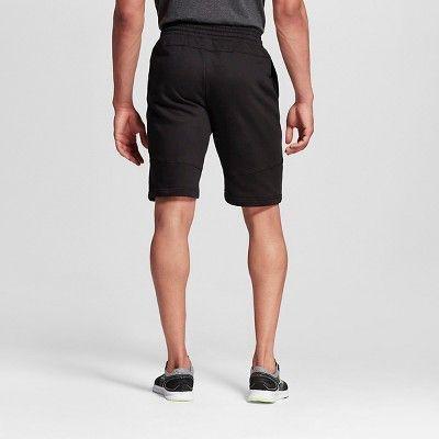 Men's Big & Tall Sizes Fleece Shorts Black 3XL - C9 Champion, Size: Xxxl
