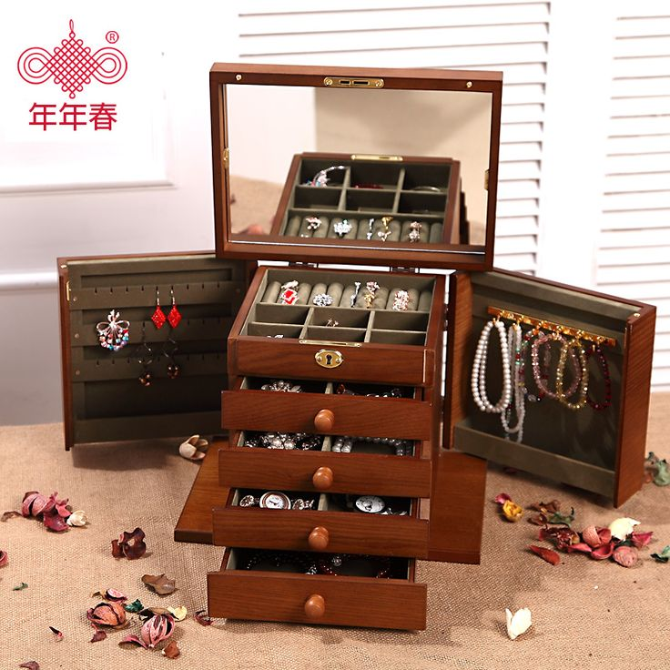 Cheap wooden boxes with locks, Buy Quality box with lock directly from China wooden box Suppliers: start    Large wood jewelry box Princess European style ret...  US $189.10     Locking wooden jewelry box real princess