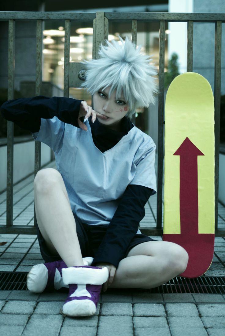 Killua=^_^= by:yano syousetu(夜乃小雪) Killua Zoldyck Cosplay Photo - WorldCosplay