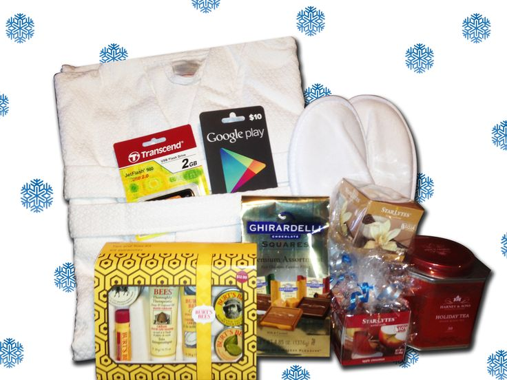 Enter to win a Tech & Pampering Basket. The basket includes the following items: Robe, Slippers, Bath kit or shaving kit, Google Play Gift Card, Tea or chocolate sampler, USB flash drive, Scented candle. Deadline 12/19/12