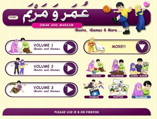 a muslim homeschool: Great online Arabic reading series!