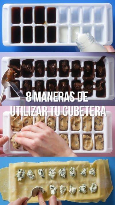 Desde hacer ravioles y barras de chocolate, hasta conservar las hierbas y el vino, las cubeteras de hielo son increíblemente útiles.