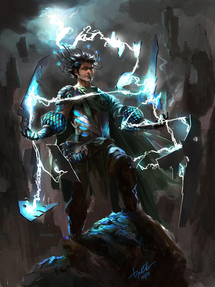 Electromancer by DiegooCunha.deviantart.com on @deviantART ...