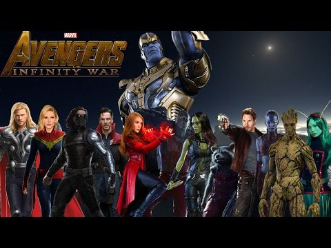 avengers 3  infinite war  primeros confirmados by blackrangers123 da5664u