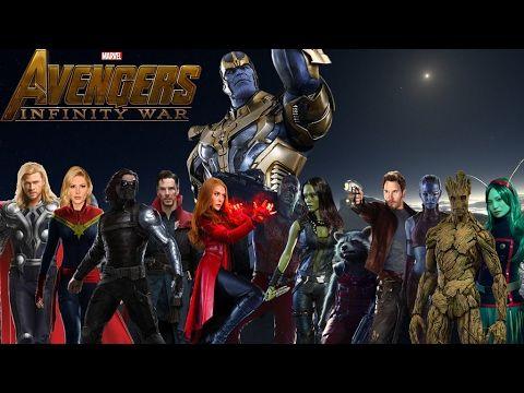 avengers 3  infinite war  primeros confirmados by blackrangers123 da5664u
