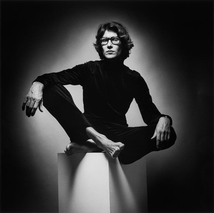 Yves Saint Laurent (1936–2008) is a famous French designer. He was well known and having inspired people and fashion through many decades. Some of his creation are: pea coat, mondrian shift dress, safari jacket and le smoking tuxedo. I pinned it because i found out he was not only talented but also very handsome
