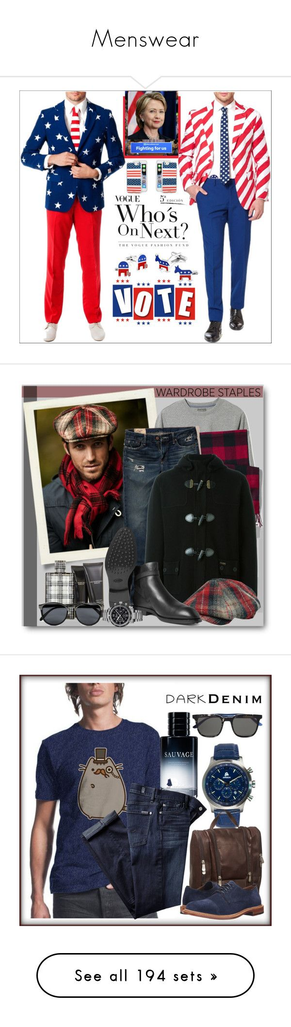 """""""Menswear"""" by yours-styling-best-friend ❤ liked on Polyvore featuring menswear, MensFashion, Cufflinks, Inc., OppoSuits, Bling Jewelry, Sonix, men's fashion, L.L.Bean, Hollister Co. and Lands' End"""